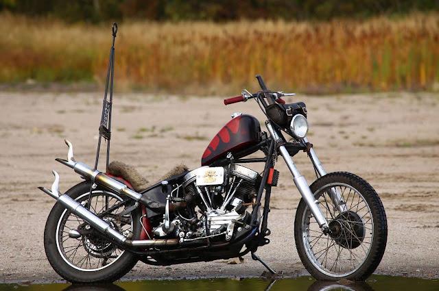 Harley Davidson Panhead By El Choppero Hell Kustom