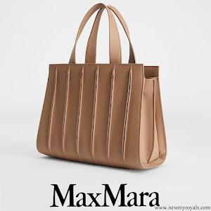 Crown Princess Mary carries MaxMara Medium Whitney Bag