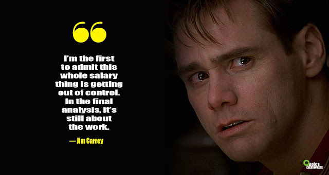 Jim Carrey Quotes about Money