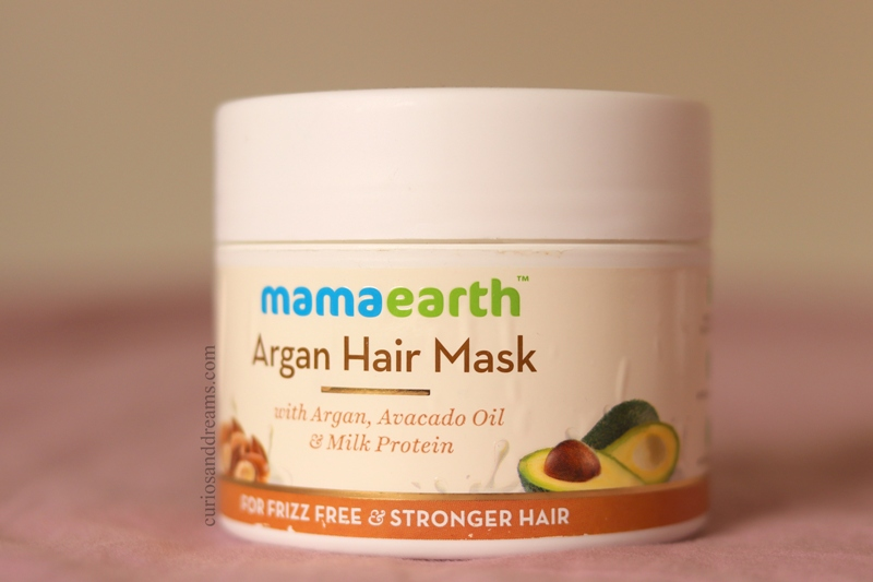 Mama Earth Argan Hair Mask, Mama Earth Argan Hair Mask review