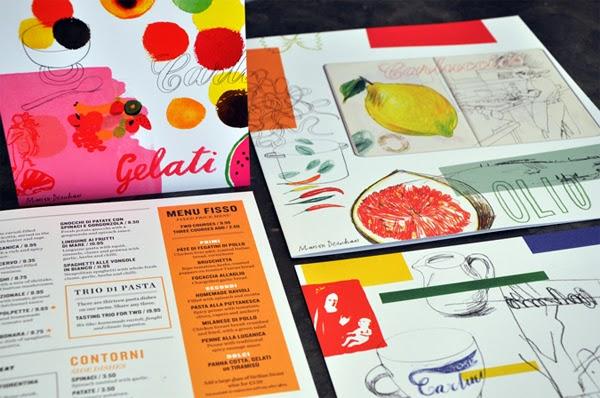 10 brilliant food and drink menu designs designers hint