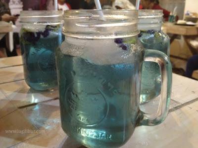 teh biru, es teh bunga telang
