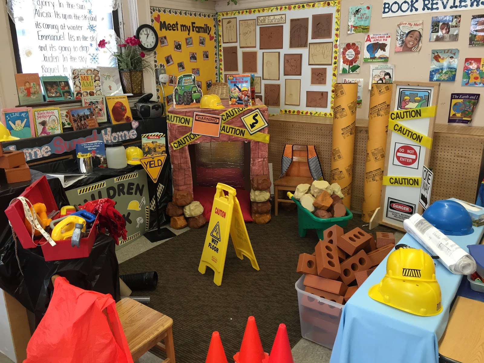 Dramatic Play Swap Construction Site
