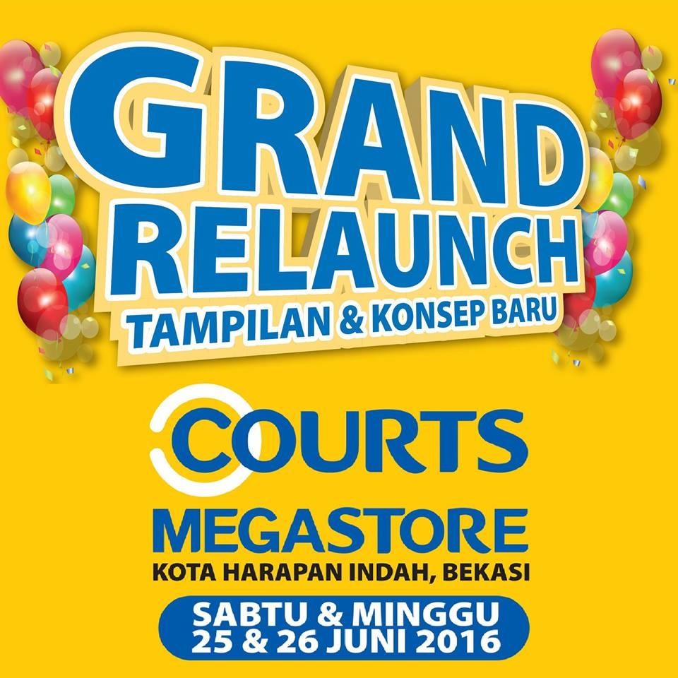 Grand Relaunch COURTS MEGASTORE Kota Harapan Indah Bekasi