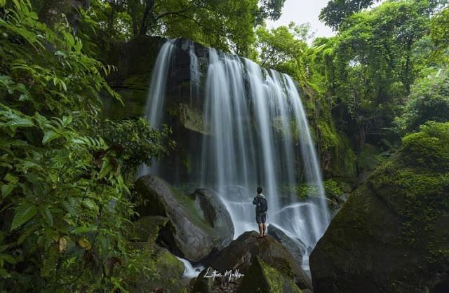 Wisata di Barru Air Terjun Batulappa