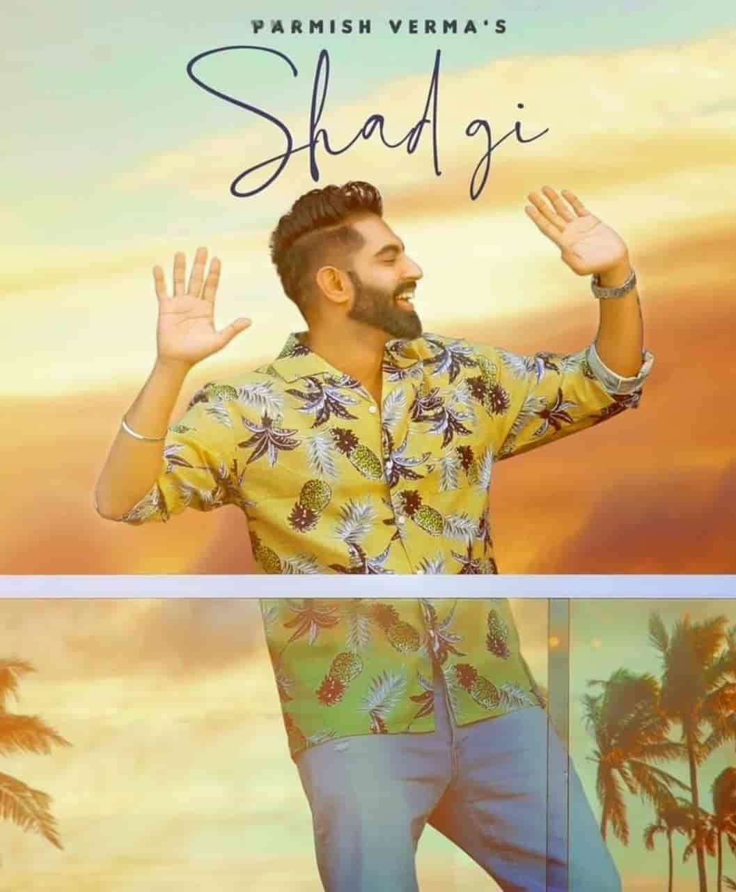 Shadgi Punjabi Song Image Features Parmish Verma