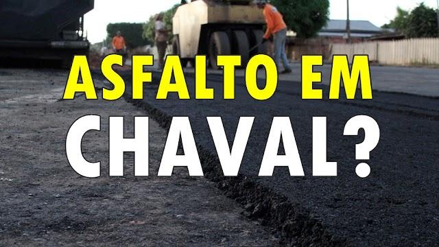 Asfalto em Chaval: Prefeitura abrirá licitação para contratação de empresa de pavimentação