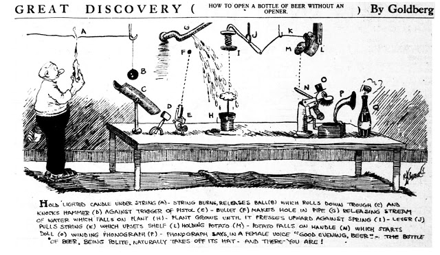 Rube Goldberg, 1913