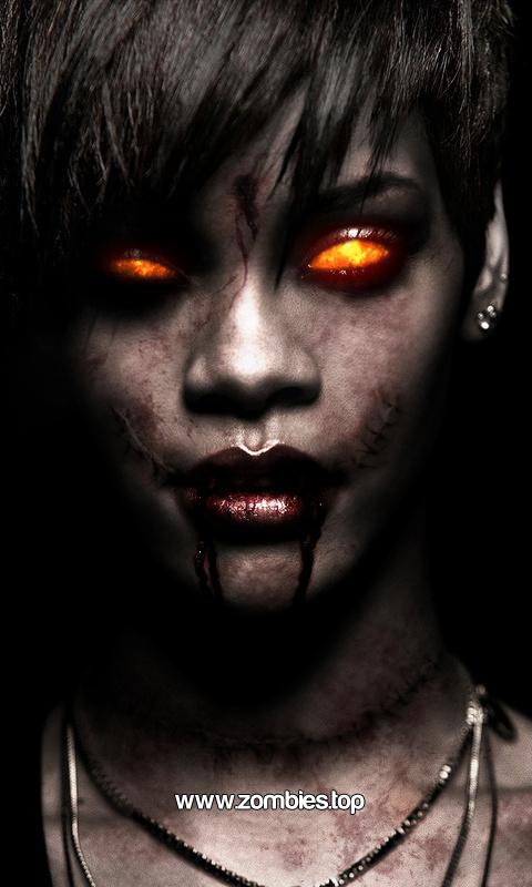 Rihanna Iphone Wallpaper Hd Imagenes De Zombies Para Whatsapp Zombies