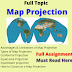 Definition types and how to construct map projection full topic