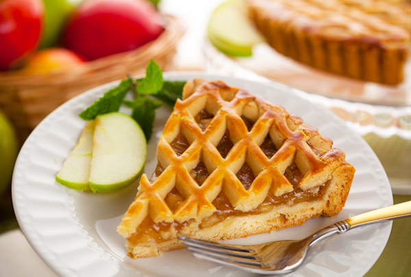 Apple Tart Slice