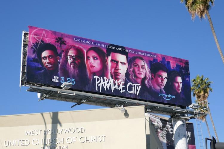 Paradise City season 1 billboard