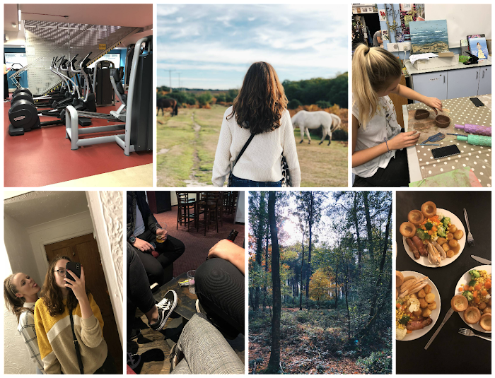 A lifestyle roundup of my week at university featuring all I've bought, watched, eaten, seen and been up to. Featuring a pottery class, joining the gym and a cream tea in the new forest