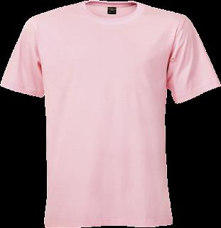 mentahan kaos polos png pink muda