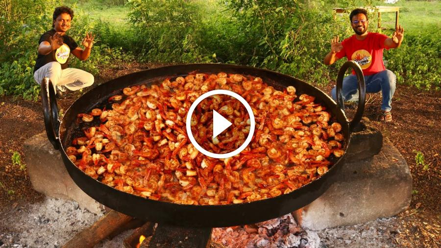 Honey Garlic Shrimp | Easy Garlic Shrimp Recipe | Grandpa Kitchen