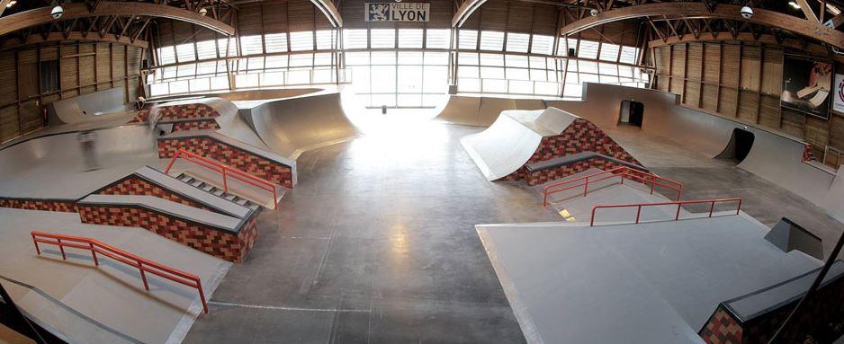 Skatepark de Lyon gerland