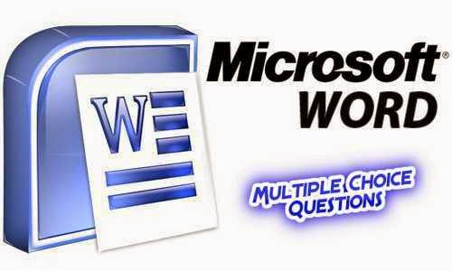 Microsoft Office Word MCQ Questions With Answers Set 5