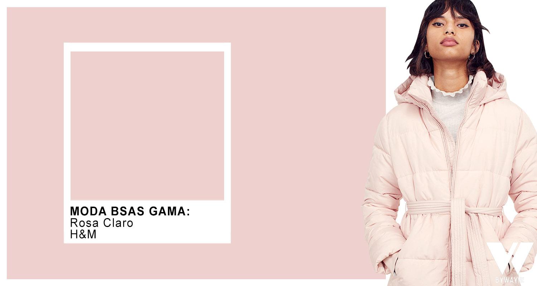 Rosa claro otoño invierno 2021 moda colores
