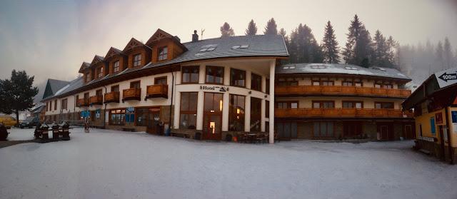 Hotel Pod Wulkanem, Kluszkowce, Czorsztyn Ski, góra Wdżar