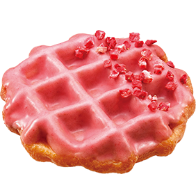 Waffnuts Strawberry Donut