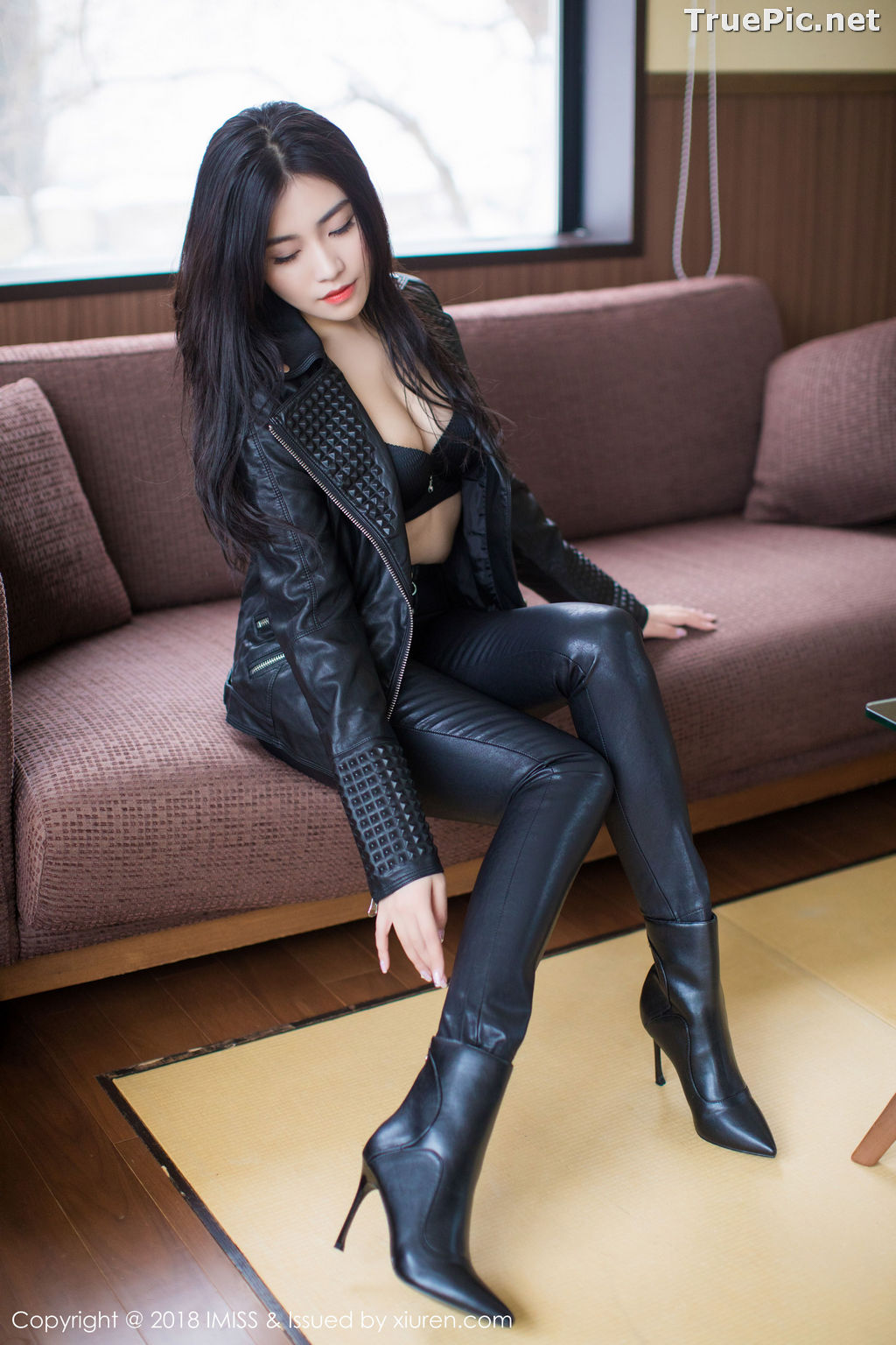 Image IMISS Vol.213 - Chinese Model - Sabrina (Xu Nuo 许诺) - Sexy Black Women - TruePic.net - Picture-2