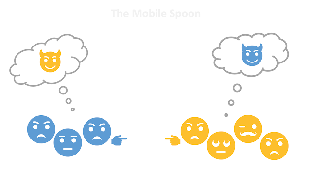 In-group Bias - the mobile spoon