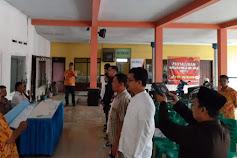 Panitia Pemilihan PAW Desa Kalibaru Kulon Resmi Dilantik