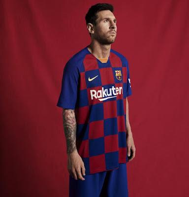 Messi nueva camiseta Barcelona temporada 2019-2020 cuadros