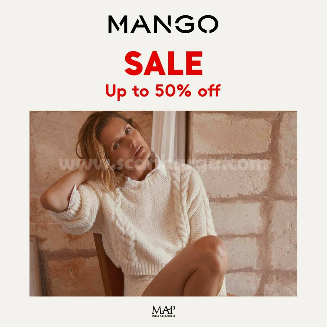 MANGO End Of Season Sale Up To 50% Off