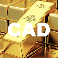 1 oz Gold price in CAD Canadian Dollar Live chart, XAU/CAD