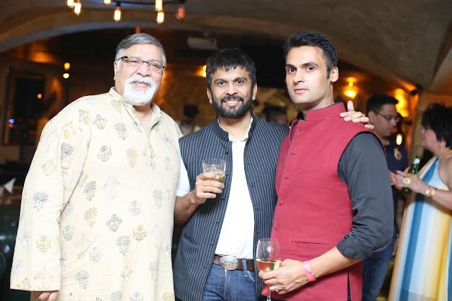 (L-R) Deepak Badhwar, Ashish Parikh, Vikrant Mehta