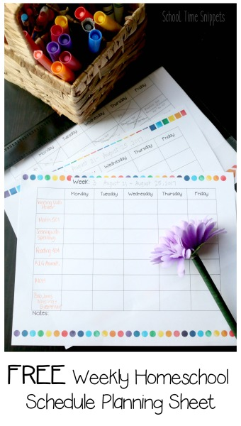 photo about Free Printable Homeschool Planner identified as Totally free Homeschool Planner Weekly List University Year Snippets