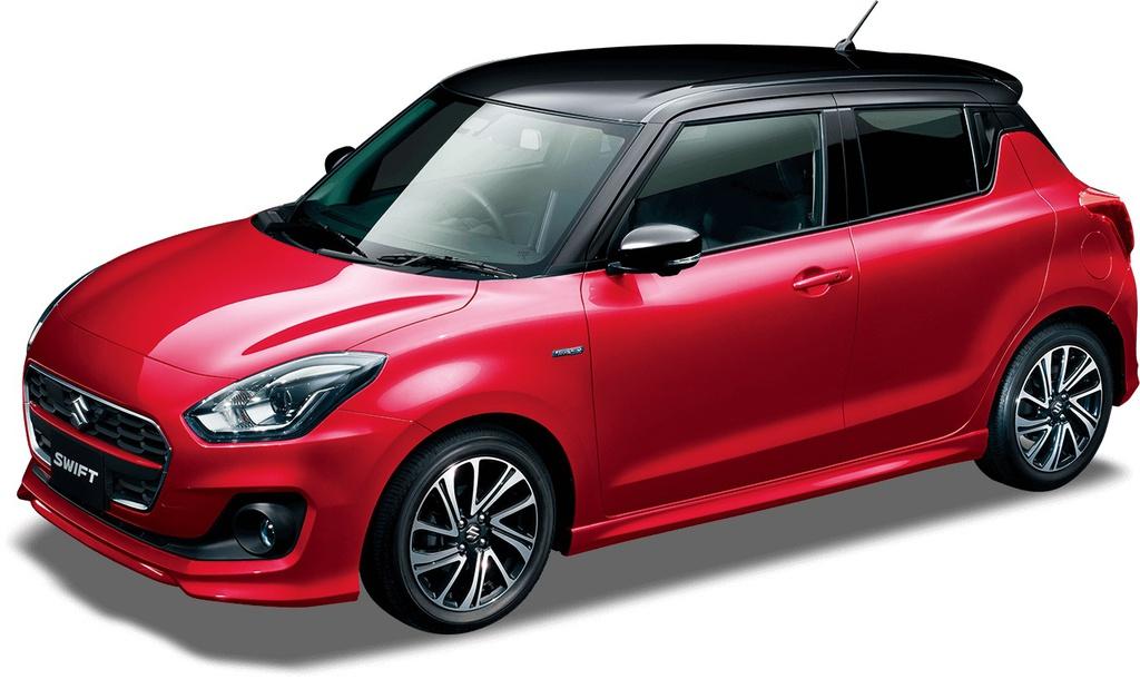 Suzuki Swift facelift 2020 có lẫy chuyển số, camera 360 độ