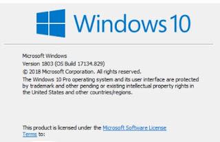 Cara Mengetahui Versi Windows 10