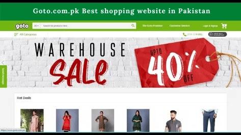 Goto.com.pk Best shopping website in Pakistan