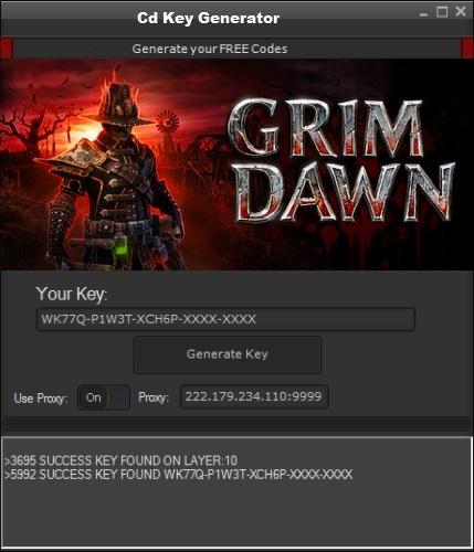 Grim Dawn CD Key 2016   Hack   Crack   Keygen Game for Mobie