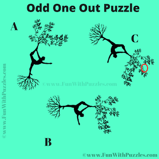 Find the Odd One out Puzzle Question-Answer