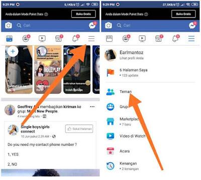 Cara Menemukan Orang Yang Memblokir Anda di Facebook