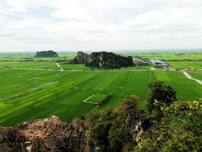 SubhanaAllah pemandangan Bukit Mok Cun yang sangat indah!