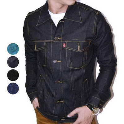 model jaket jeans terbaru
