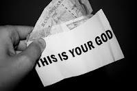 Informasi Uang: Anda tidak menyadari bahwa Tuhan anda saat ini adalah uang