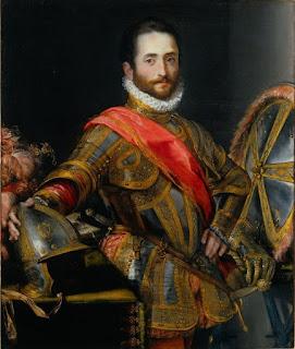 Francesco II della Rovere, as depicted by the Italian painter Federico Barocci in 1572 (Uffizi Gallery)
