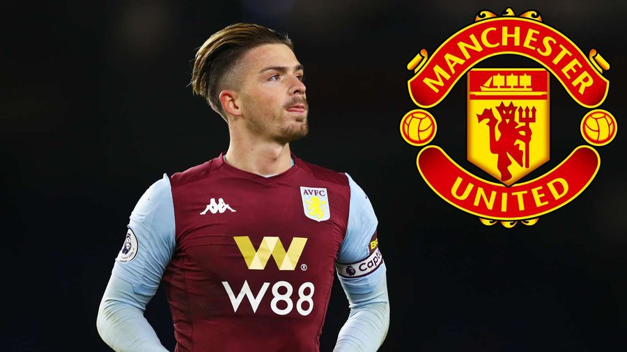 Wow! Jack Grealish Prefers Manchester United Transfer Over Barcelona And Real Madrid