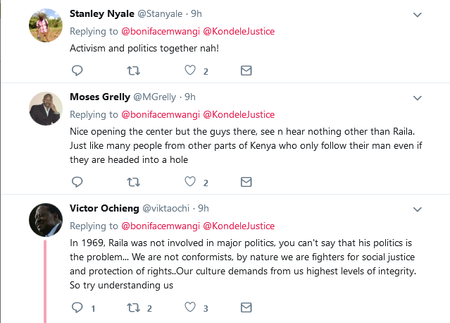 A Nairobian Tried Telling Kisumu Residents Raila Odinga Destroyed Them. They Disagree