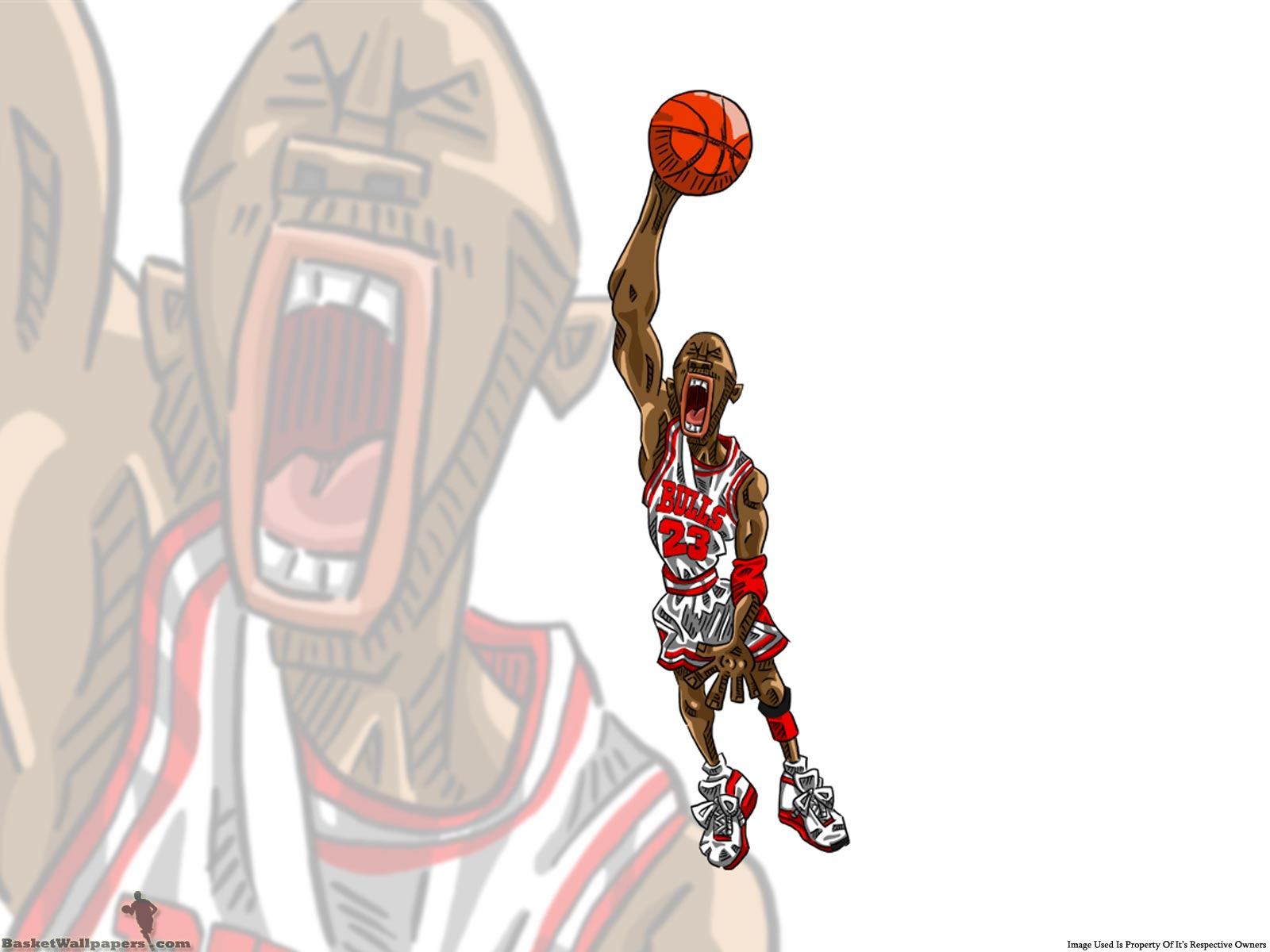 Basketball Cartoon Wallpapers: HD Basketball Wallpapers
