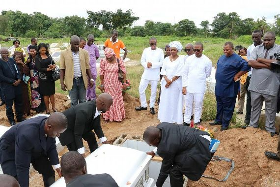 Photos from the burial of late Director of Information State House, Justin Abuah
