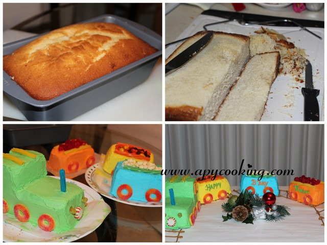 Apy Cooking My Baby Turns Three Celebrating With Train Cake