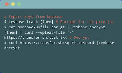 Menggunakan https://keybase.io