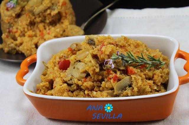 Quinoa y verduras Thermomix
