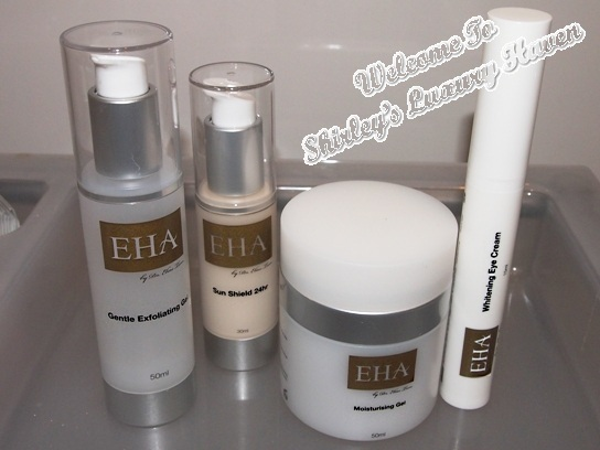 eha clinic skincare products